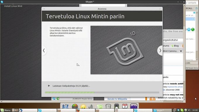 Lataa Linux Mint Suomi