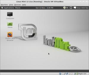 Linux Mint 12 Lisa Työpöytien Vaihto