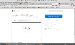 Google Chrome Linux asennusohje