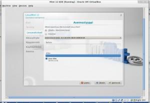Linux Mint 12 KDE asennusohje