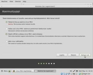 5 asennusohje Linux Mint